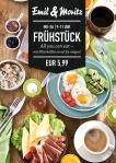 """Frühstück """"All You Can Eat"""" Montag bis Freitag von 09:00 -11:00 Uhr Frühstück satt! Plus: Filterkaffee, soviel Sie mögen! EUR 5,99 p.P. ©Foto: Mediaheadz · Susann Wentzlaff"""